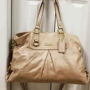 e993044e3ff3 Coach Ashley Satchel Leather Bag